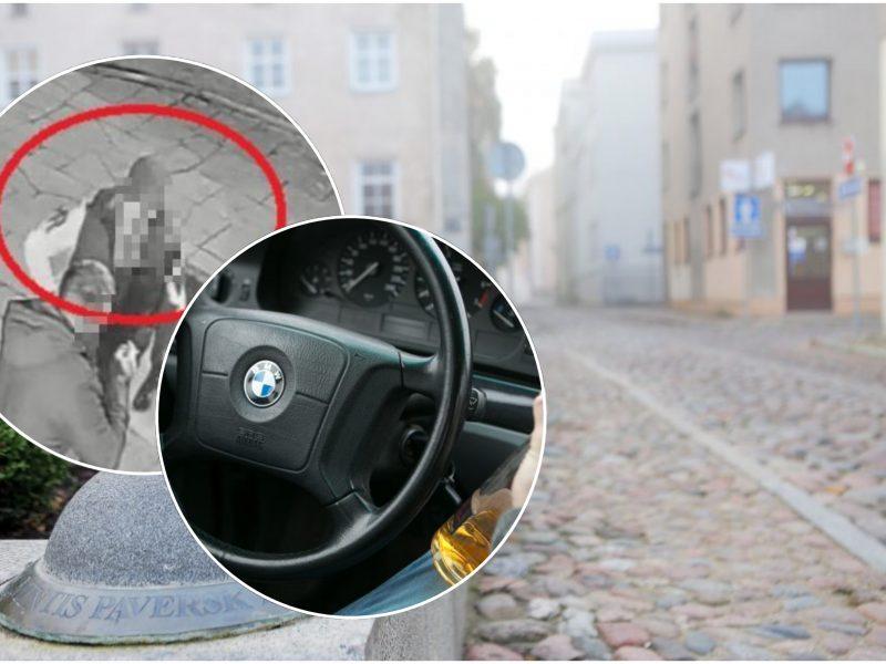 Savaitgalio siautuliai: Klaipėdos senamiestyje – muštynės baruose ir girtų vairuotojų manevrai