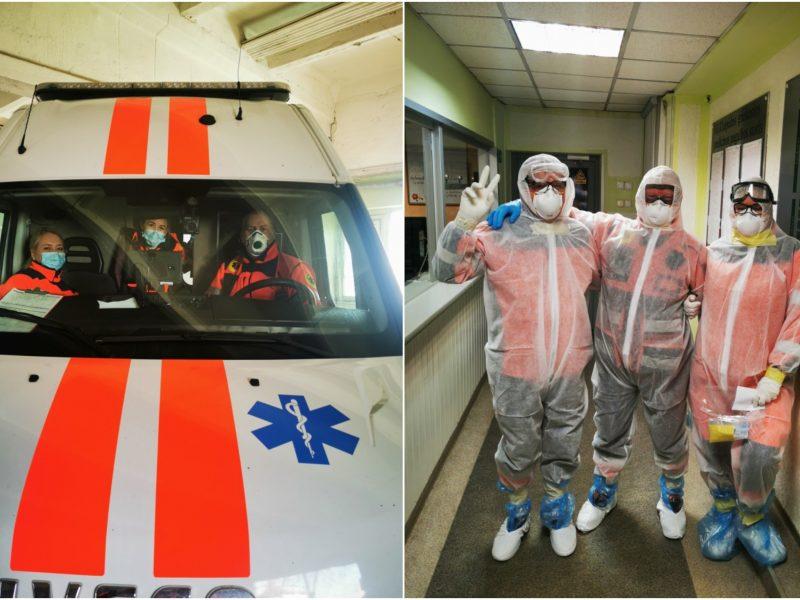 Klaipėdos medikams – skaudūs kaltinimai: esą jie didžiausi koronaviruso platintojai