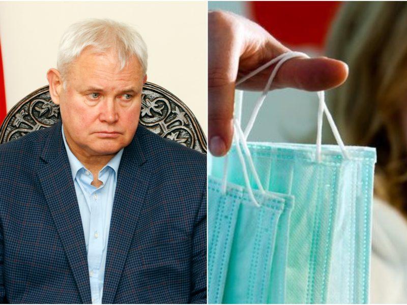 V. Grubliauskas: koronavirusas patvirtintas 12 medicinos darbuotojų Klaipėdoje