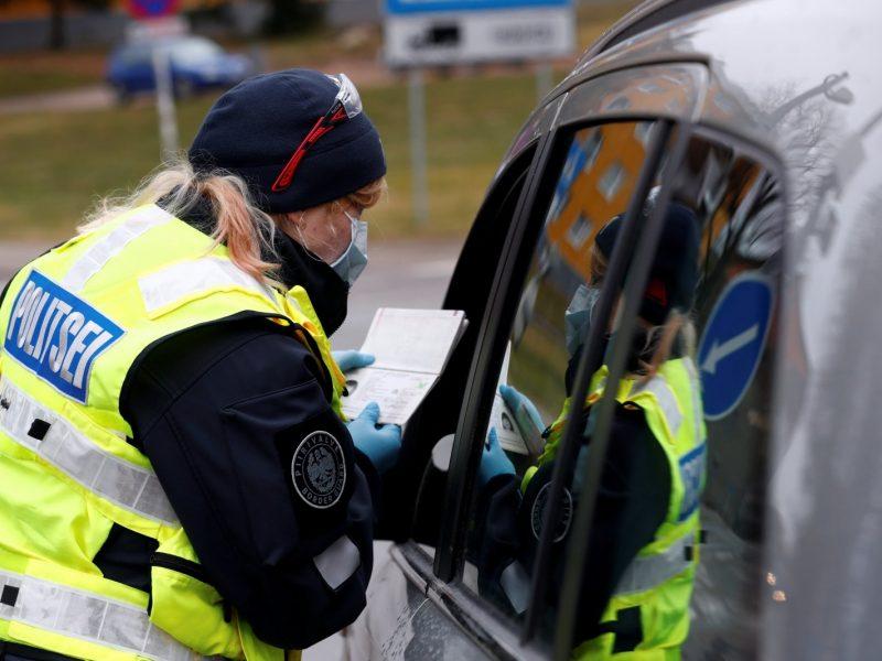 Estijoje nustatyti 575 nauji COVID-19 atvejai, šeši užsikrėtusieji mirė
