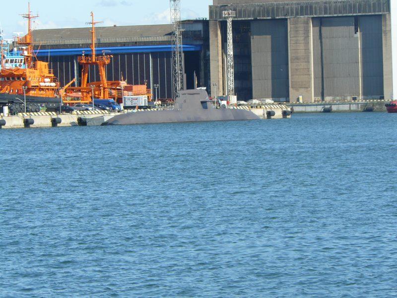 Povandeninis laivas – vis dar Klaipėdoje