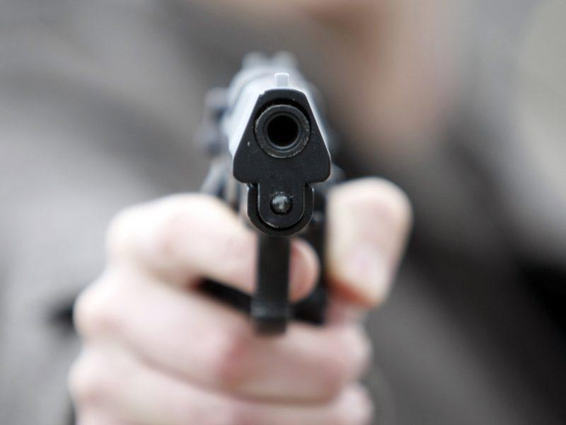Incidentas Utenoje: sulaikytas neblaivus vyras su revolveriu