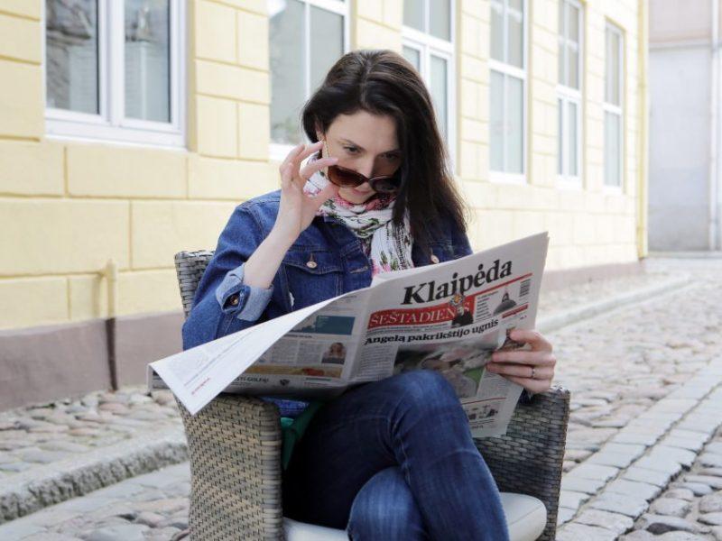 """Dienraštis """"Klaipėda"""" – miesto ir regiono lyderis"""