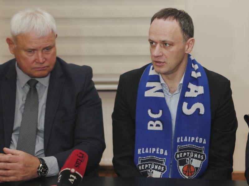 """Sunerimęs Klaipėdos meras susitiks su """"Neptūno"""" vadovais"""