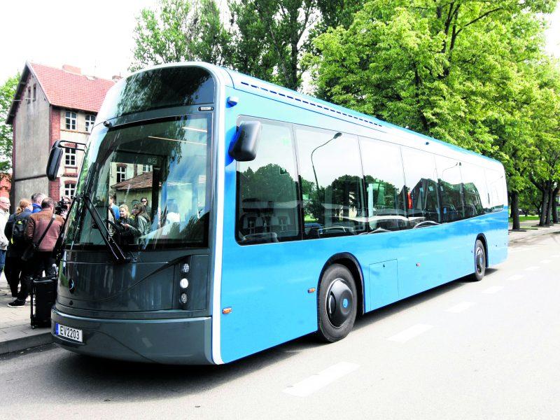Klaipėdos ateitis – ekologiškas viešasis transportas