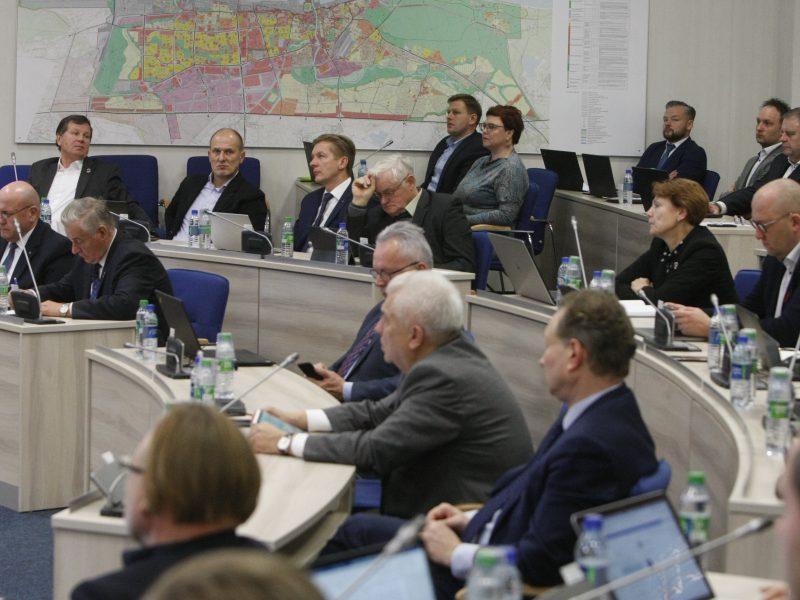 Klaipėdoje ruošiamasi šaukti tarybos posėdį