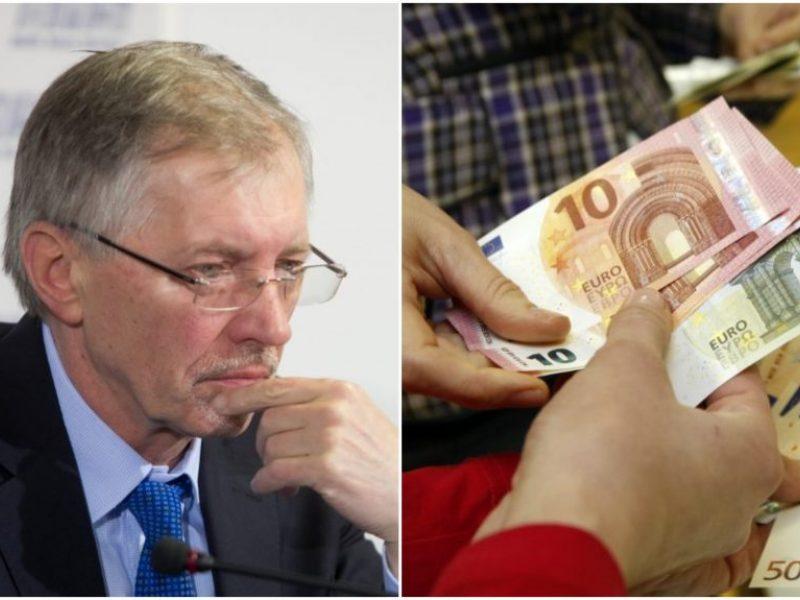 G. Kirkilas vaiko pinigus siūlo didinti iki 122 eurų