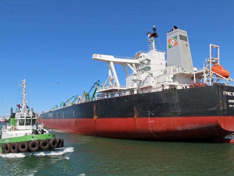 Prie KLASCO krantinių – net 300 metrų ilgio laivas