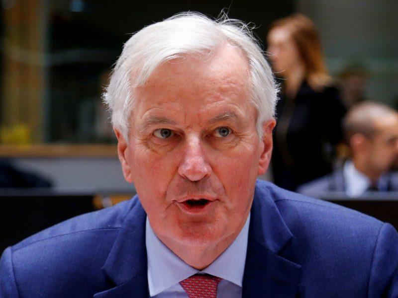 """M. Barnier: Airijos sienos klausimas gali sužlugdyti """"Brexit"""" susitarimą"""