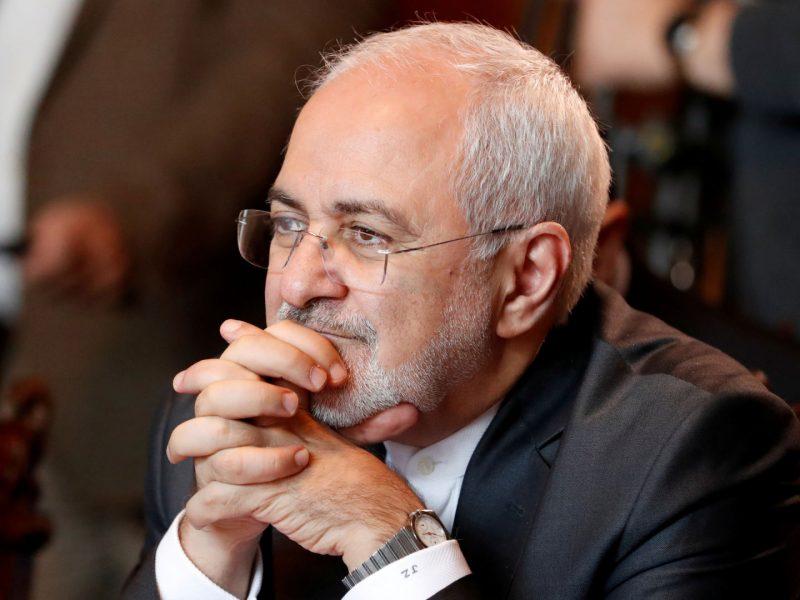 """Irano URM vadovas: deryboms su JAV """"nėra galimybės"""""""