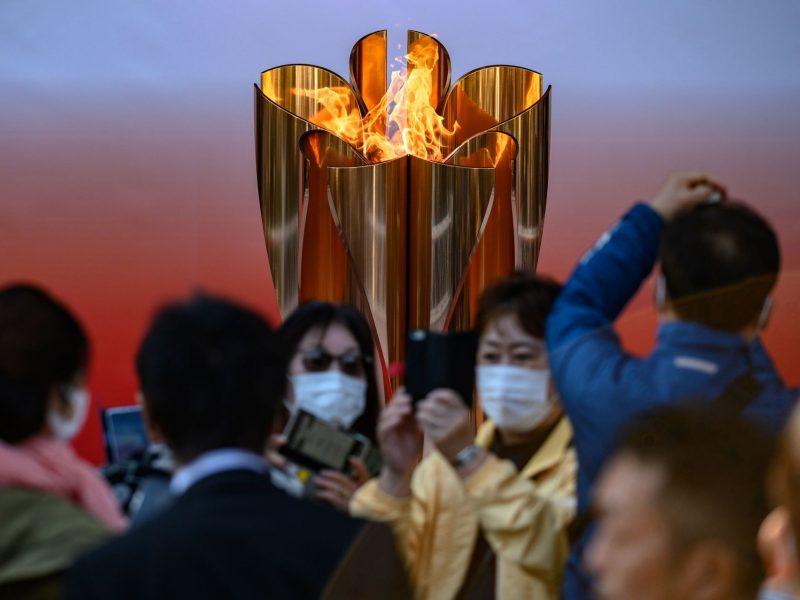 Stabdoma olimpinės ugnies nešimo estafetė