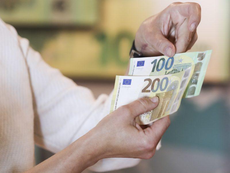 """Į """"Sodros"""" pensijų išmokų fondą gyventojai pervedė daugiau kaip 1 mln. eurų"""