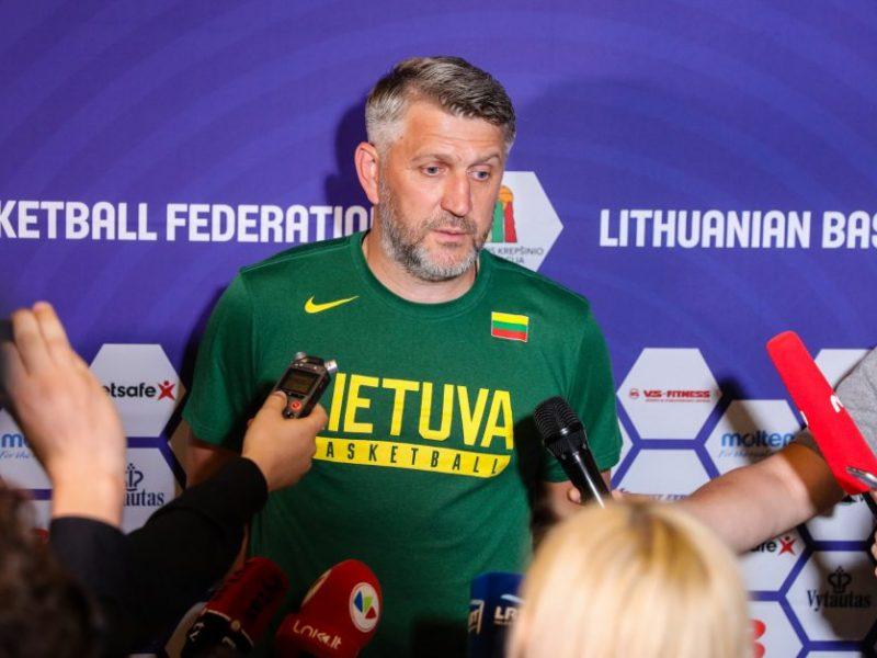 Išplėstiniame Lietuvos rinktinės kandidatų sąraše – V. Kariniauskas ir ACB lietuvių desantas