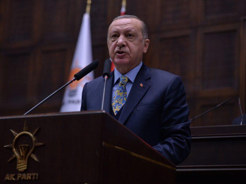 """R. T. Erdoganas: Turkija nenori """"užimti"""" Sirijos"""