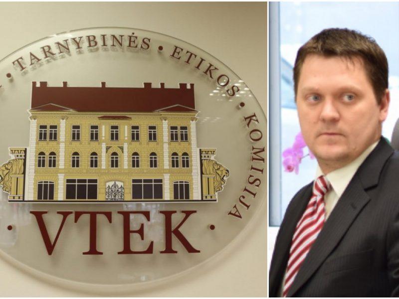 Iš VTEK atleistas M. Siaurys skundžia buvusius kolegas pačiai komisijai