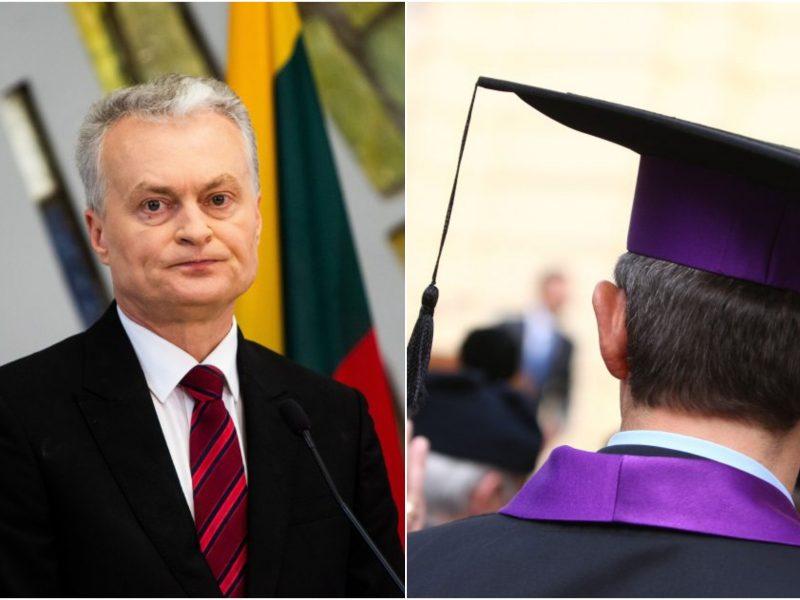Prezidentas: universitetai turi jungtis savo iniciatyva