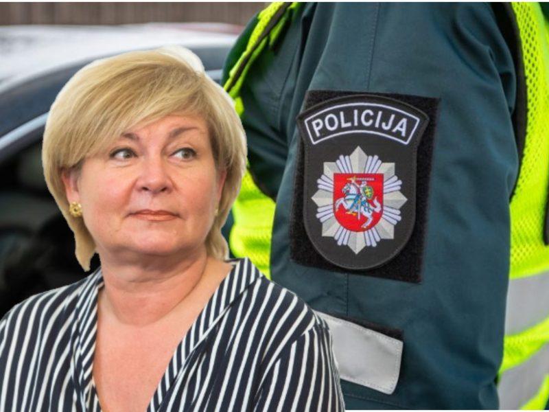 Vilniuje prie vairo girta sustabdyta E. Mildažytė