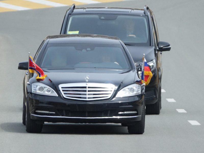 Šiaurės Korėja pernai gavo du Kim Jong-unui skirtus mersedesus
