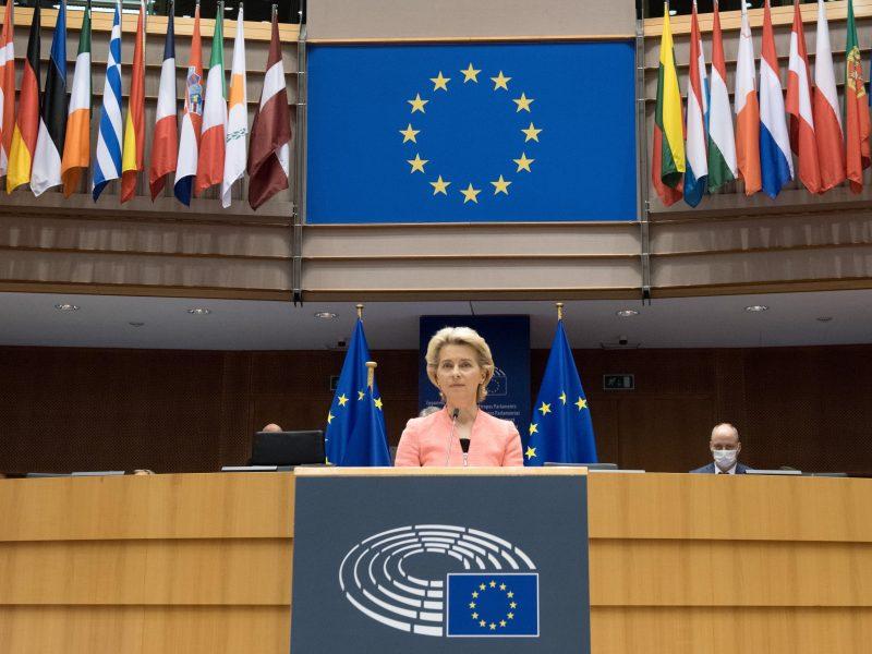 EK pirmininkės metinis pranešimas: kokios idėjos svarbios ir Lietuvai?