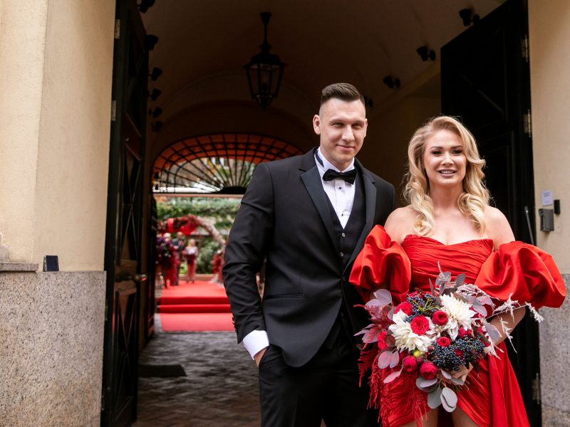 N. Bunkės ir E. Eidėjaus vestuvės