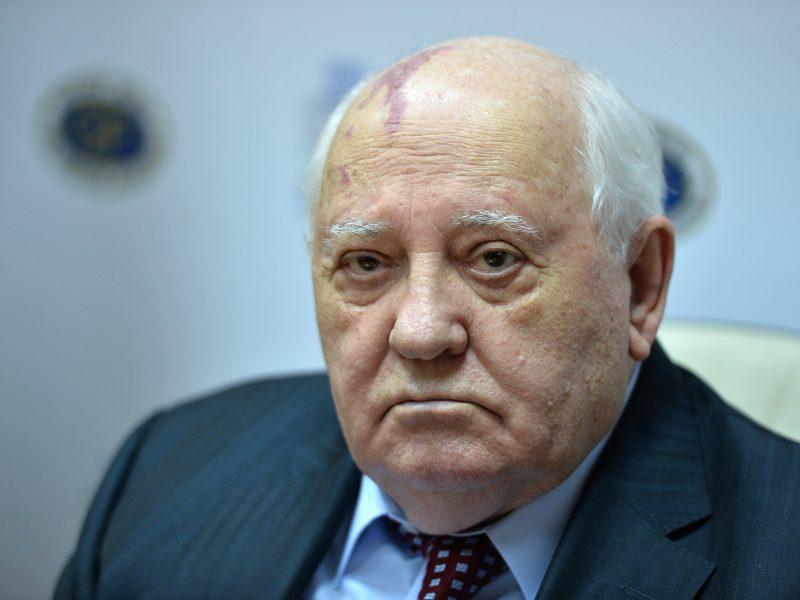 M. Gorbačiovas įspėja: pasaulis yra milžiniškame pavojuje