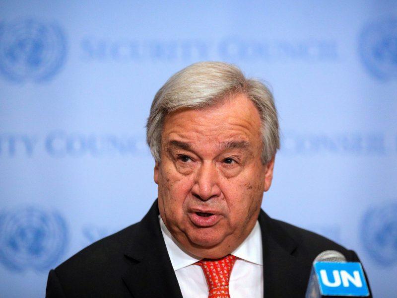 JT vadovas ragina laikytis maksimalaus santūrumo dėl Kašmyro