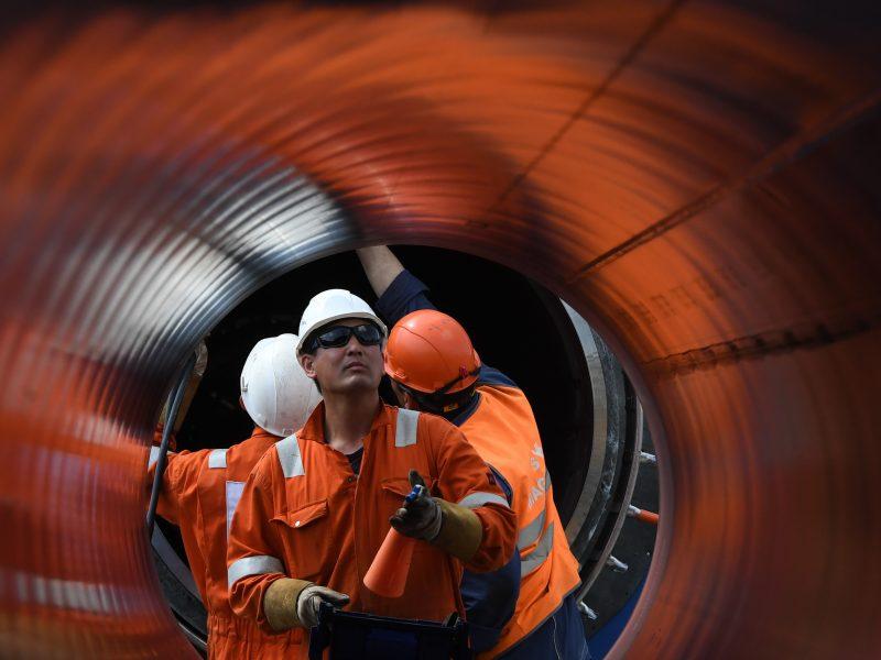 """Vokietijoje parengtos pataisos, švelninčios ES dujų direktyvą """"Nord Stream 2"""""""