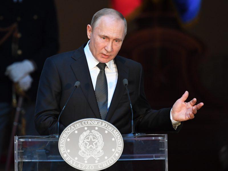 V. Putinas tikisi visiško Rusijos ir ES santykių normalizavimo