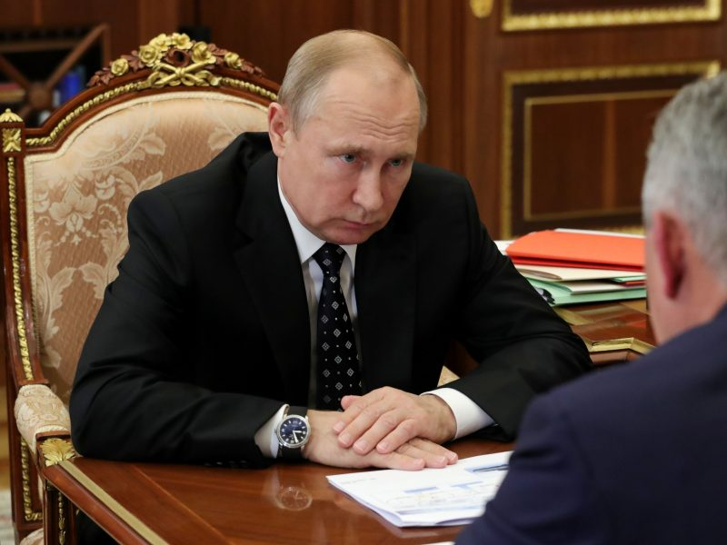 V. Putinas: Rusija niekada nesikišo į kitų šalių vidaus reikalus