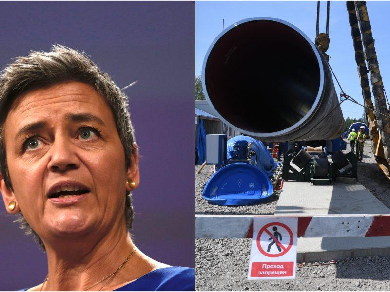 """Danijos atstovė Europos Komisijoje: """"Nord Stream 2"""" Europai nebūtinas"""