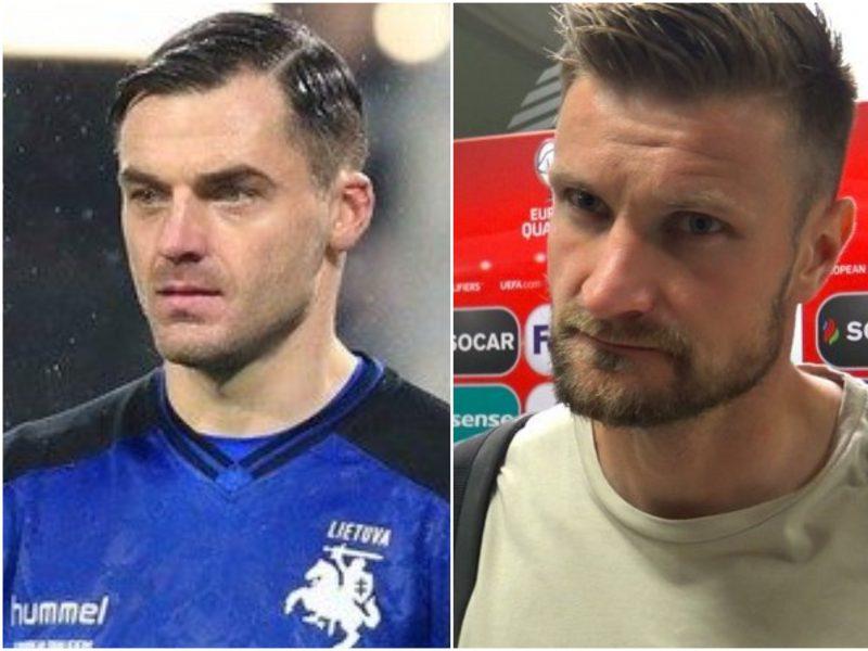 Rokiruotė: E. Šetkus ir M. Palionis negalės padėti Lietuvos futbolo rinktinei