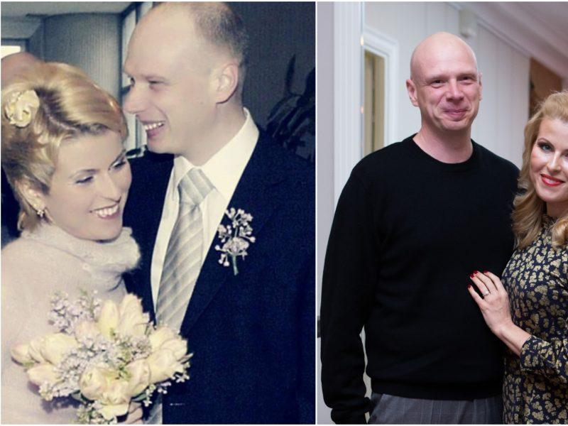 R. Mikelkevičiūtė su vyru mini 15-ąsias vestuvių metines: buvo ir saulės, ir lietaus