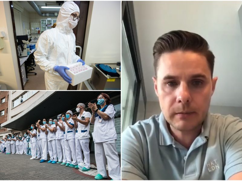 Lietuvis medikas – apie karantiną Ispanijoje ir kodėl ne visi testai yra patikimi