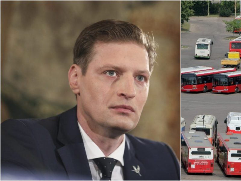 K. Mažeika: taršos mokestį būtų galima investuoti į nemokamą viešąjį transportą