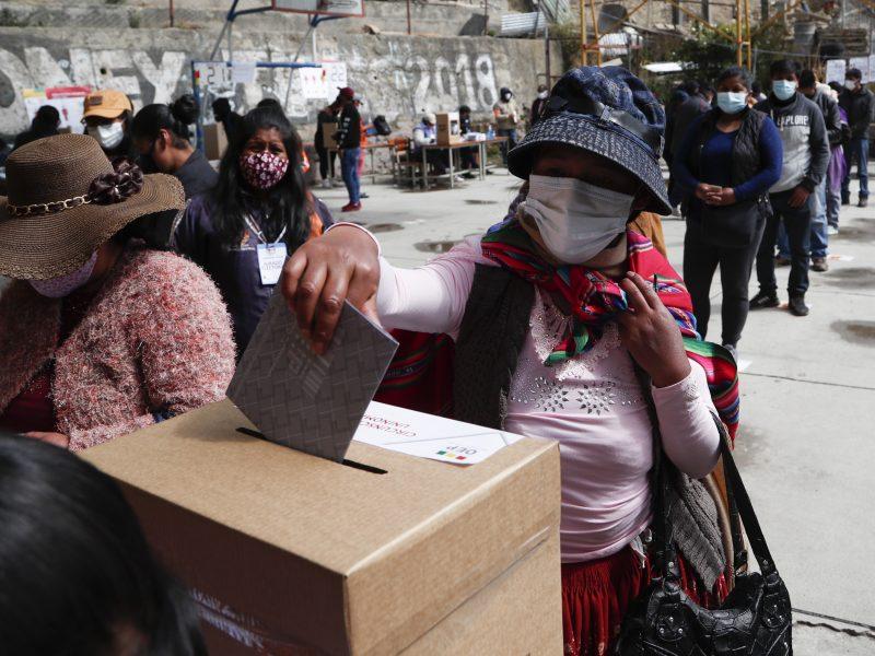Bolivijoje prasideda neramumų galintys išprovokuoti visuotiniai rinkimai