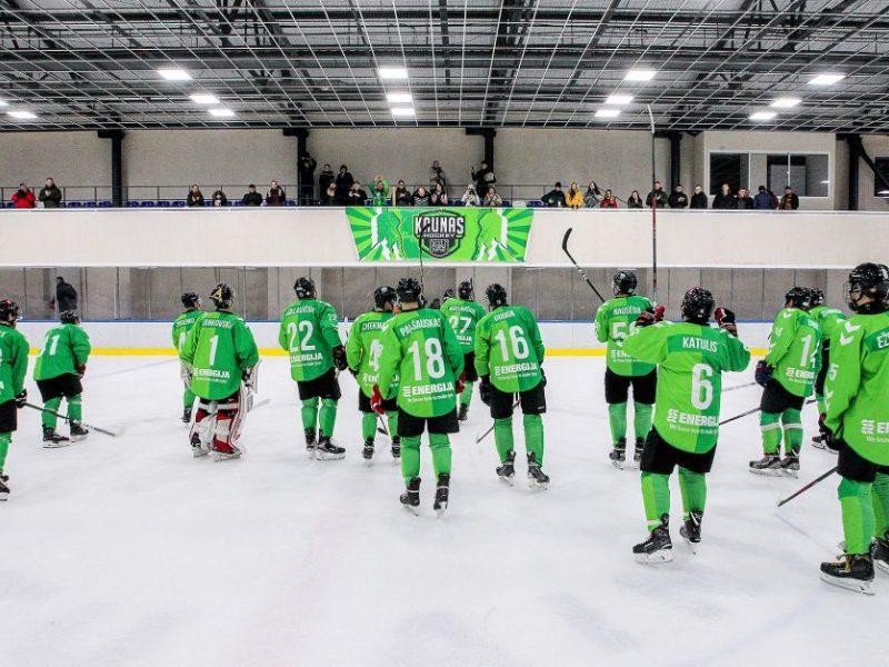 """Gruodžio trečiadienių maratoną Kauno ledo arenoje pradeda """"Kaunas Hockey"""""""