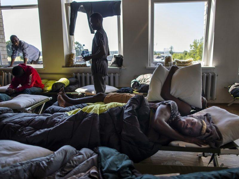 Grigiškės bijo, kad teks priimti migrantus: iš valdžios pasigenda informacijos ir tvirtesnio žodžio
