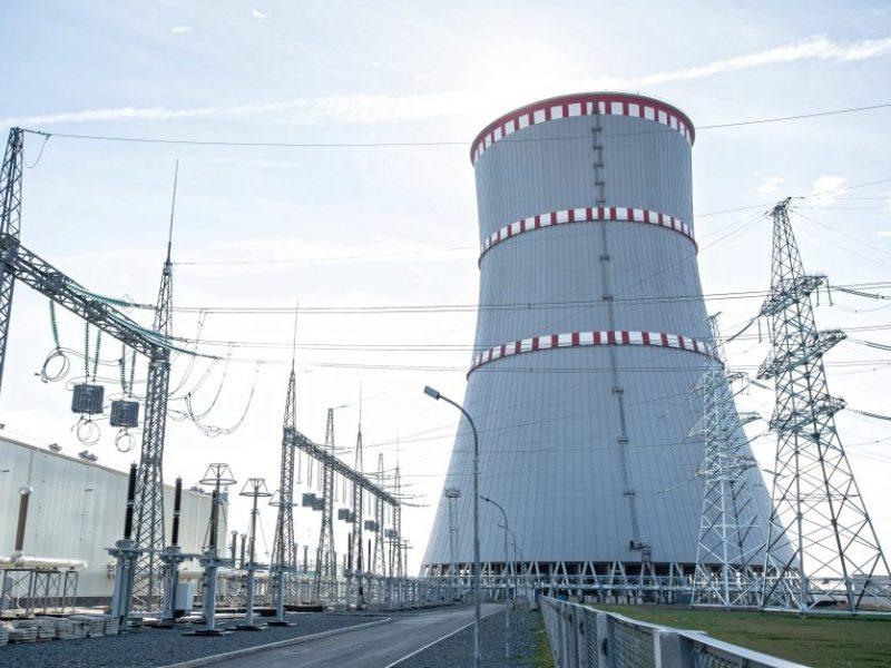 Paskelbta, kada planuojama įjungti pirmąjį Astravo AE reaktorių