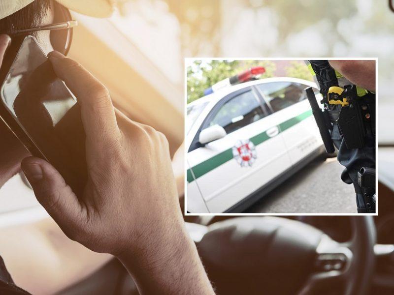 KET pažeidęs vairuotojas Kauno pareigūnę bandė papirkti 30 eurų kyšiu