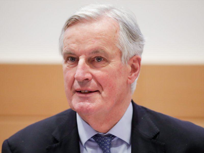"""ES """"Brexito"""" derybininkas M. Barnier'as tarė """"sudie"""": misija baigta"""