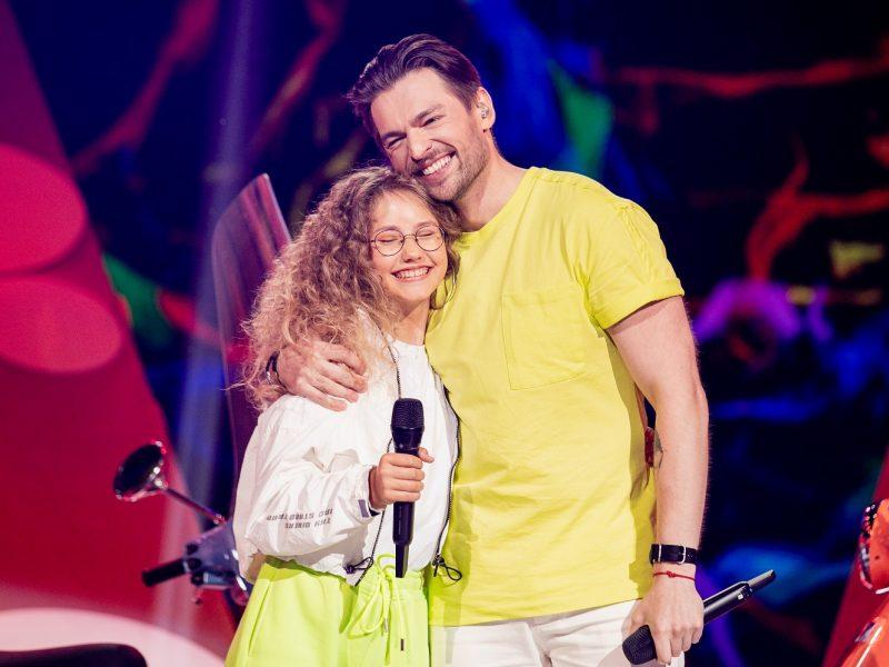 J. Veklenko apie dvylikametę scenos partnerę: Vega gali rinkti arenas