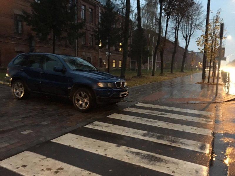 Automobilių parkavimo Šančiuose ypatumai