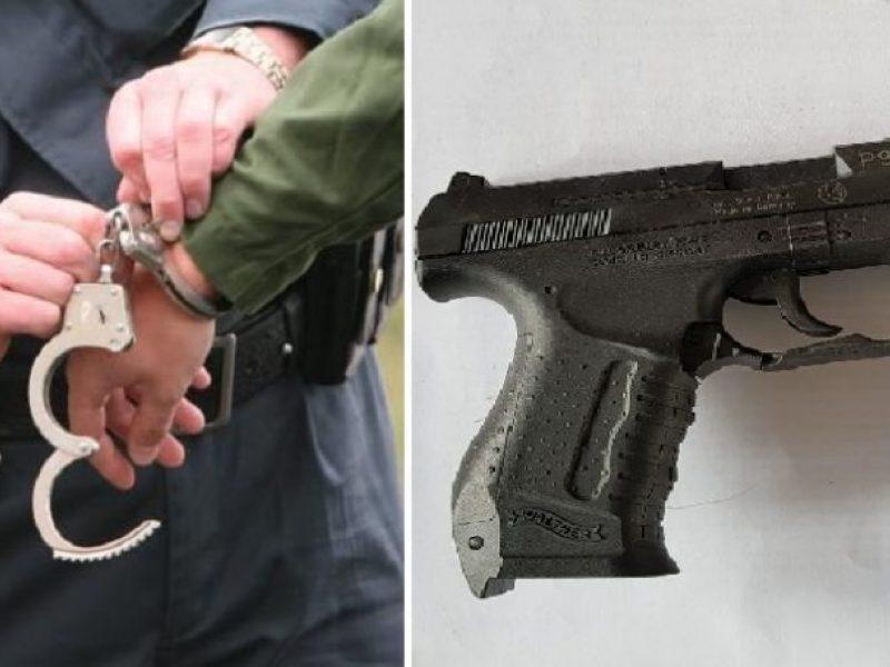 Kauno rajone ginkluotas konfliktas trims vyrams baigėsi areštinėje