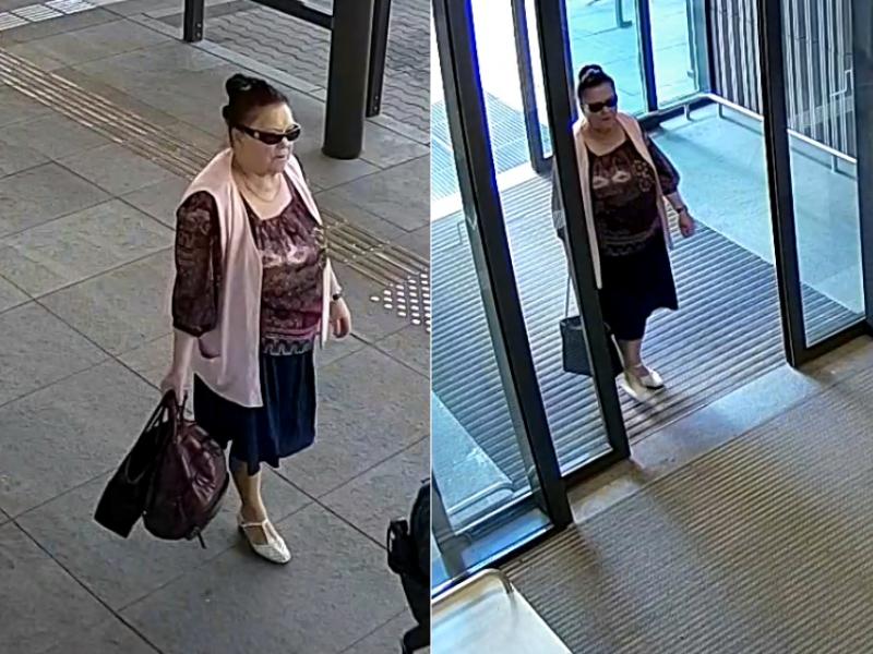 Autobusų stotyje pavogta svetima kuprinė <span style=color:red;>(ieškoma ši moteris)</span>