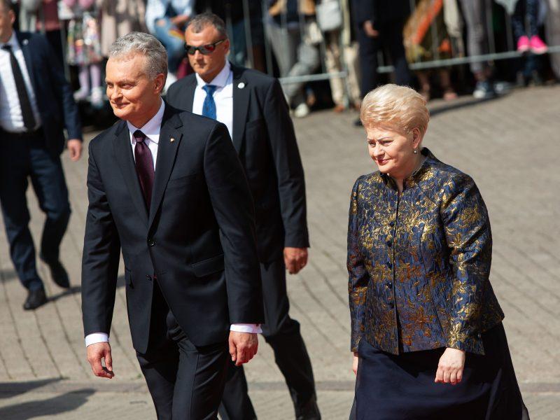 D. Grybauskaitės ir G. Nausėdos medaus mėnesių skirtumai