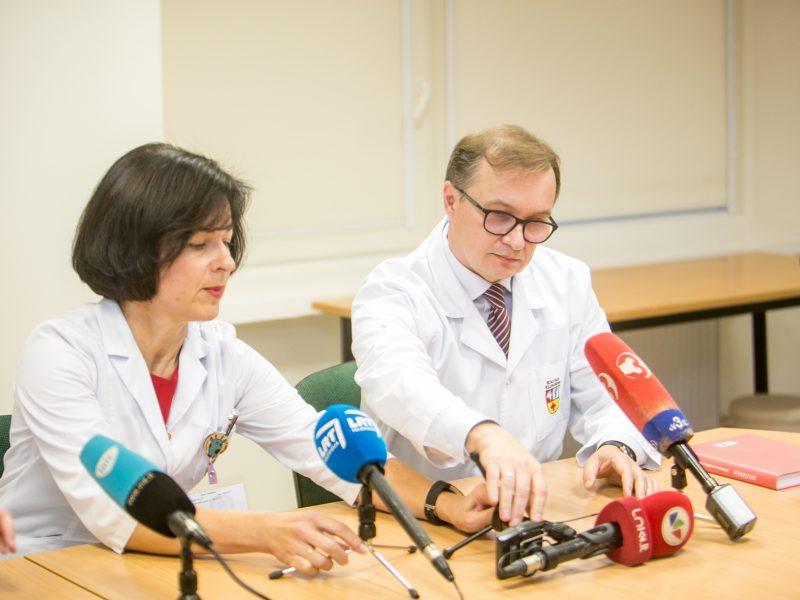 Konferencija: Kauno klinikose gimė mažiausias šalyje naujagimis