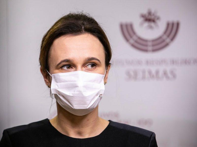 V. Čmilytė-Nielsen apie jaunos medikės savižudybę: labai pikta matyti mėginimus išsisukinėti