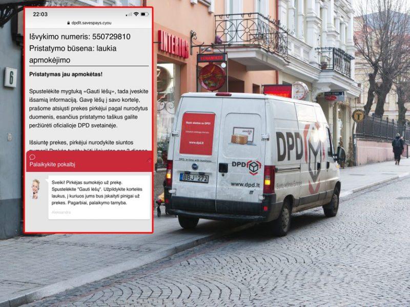 Interneto sukčiai nusitaikė į pardavėjus – apsimeta žinomų bendrovių kurjeriais