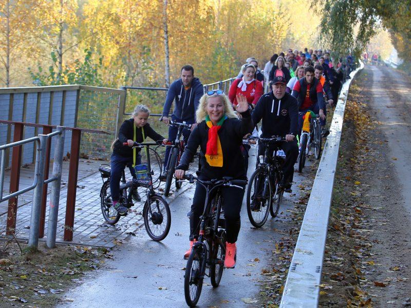 Verslą Kačerginėje išjudino dviračių takas