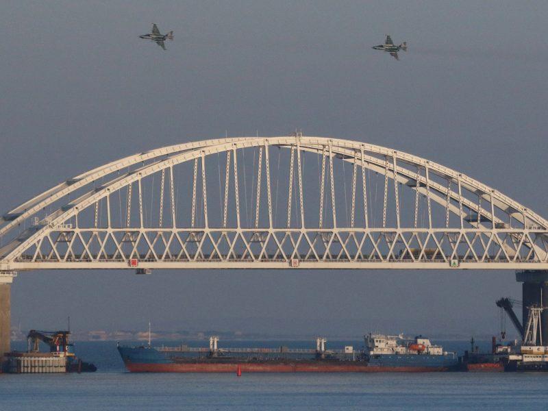 Maskva pyksta ant ES dėl incidento Kerčės sąsiauryje – žada atsaką